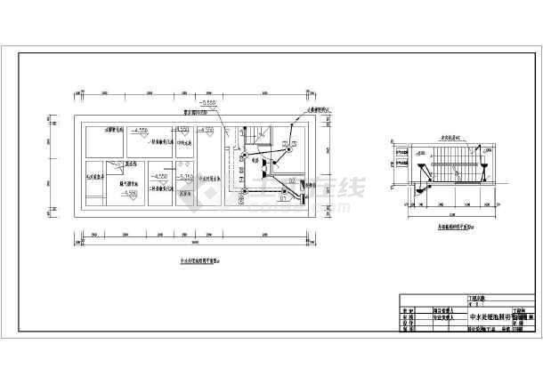 中水回用处理池工程电气设计全套施工图-图1