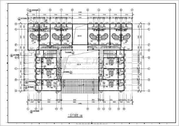 某地两层砖混结构仿古建筑设计施工图纸