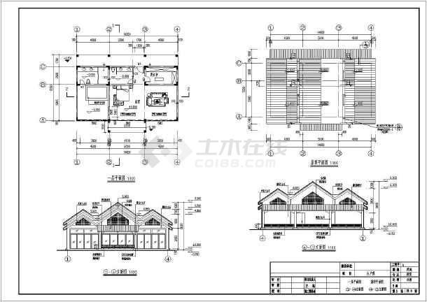 某地一层傣式单体建筑设计方案图纸