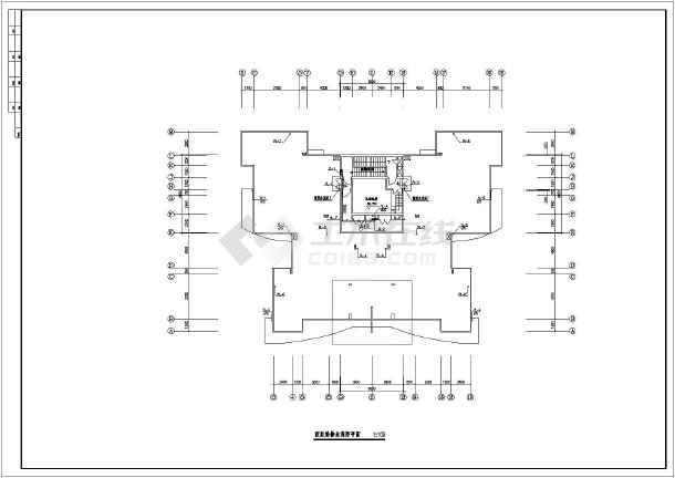 某地20层剪力墙结构住宅楼给排水及消防施工图(带两层