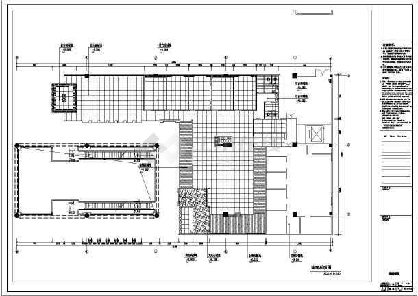 【福建】现代风格时尚餐厅室内装修施工图(含效果图)  简介: 图纸内容