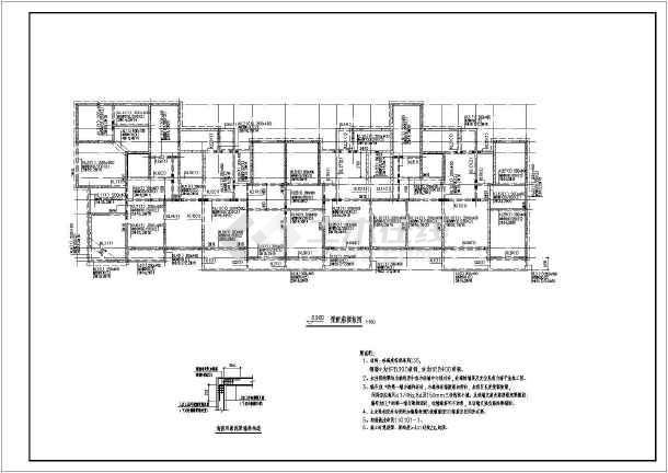 某17层剪力墙住宅楼结构设计施工图纸