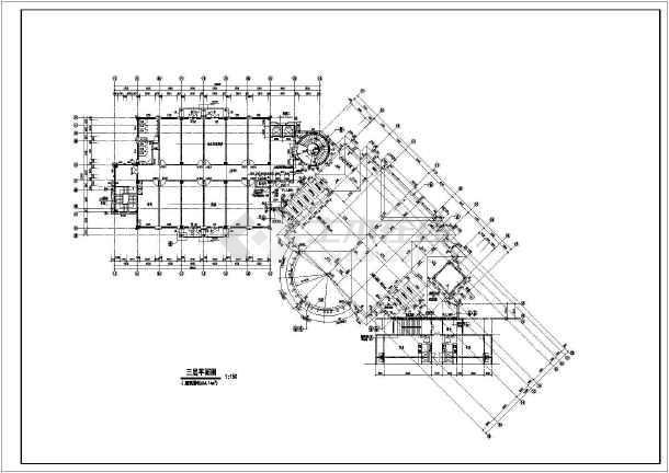 欧式会所别墅装修设计详细节点大样图纸