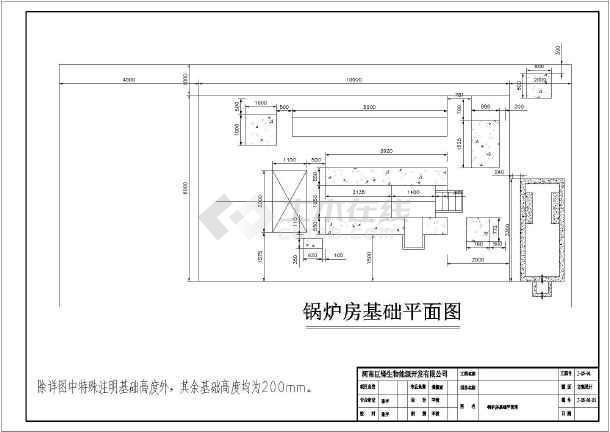 1t生物质热水锅炉房设计图片