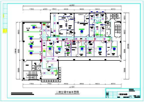 某实验室变频空调工程设计施工图纸图片