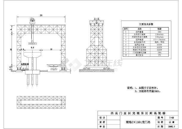 比较齐全的各类桥梁施工方案设计图图片1