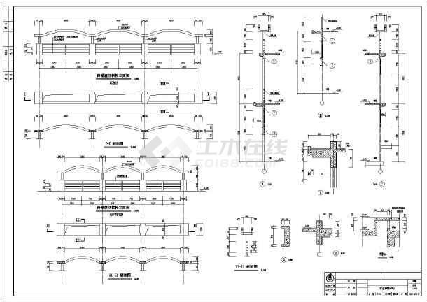 四层--十一层平面图,夹层平面图,,剖面图,楼梯间大样,坡道大样,核心筒