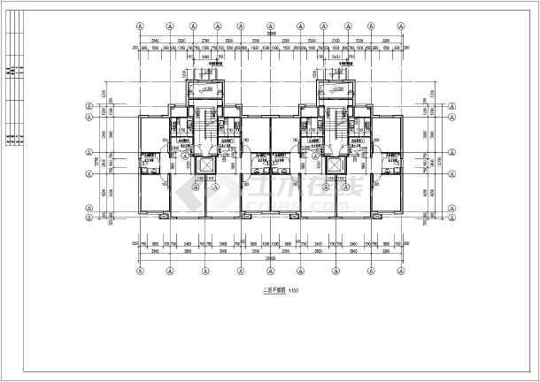 某地十层剪力墙结构小高层住宅建筑建筑设计方案图纸