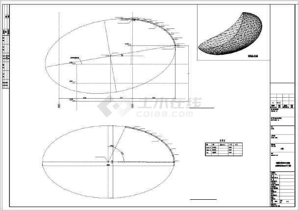 工程图 平面图 610_432