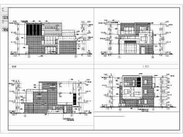 南方农村三层房屋设计图
