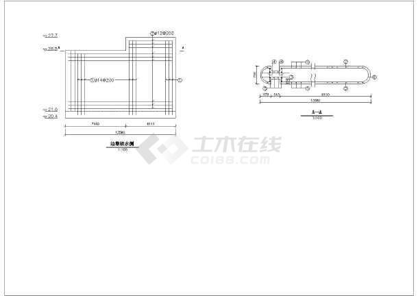 图纸房屋钢筋结构图怎样看钢筋结构图楼房钢筋结构图