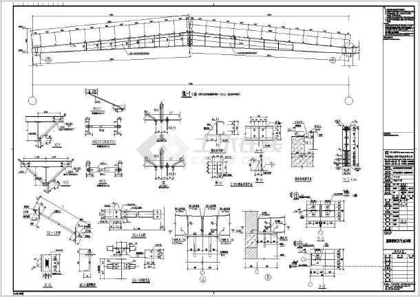 某单层钢结构生产厂房