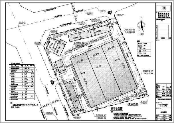 某地区钢结构厂房厂区建筑设计规划方案