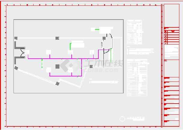 某大型商场连锁图纸机电图纸_cad农田下载一线规划cad图片