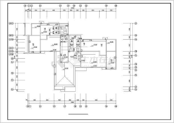 【浙江】图纸住宅楼防排烟高层v图纸系统_cad图纸轨下载线图片