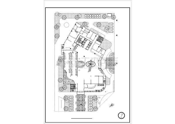 某地小型商务宾馆建筑设计方案图纸