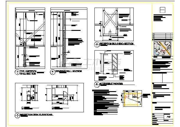 某国外中医诊所装修设计图