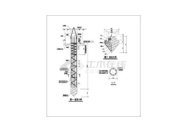 详图振动沉管灌注桩设计改装与图纸_cad静压机械增压图纸说明图片