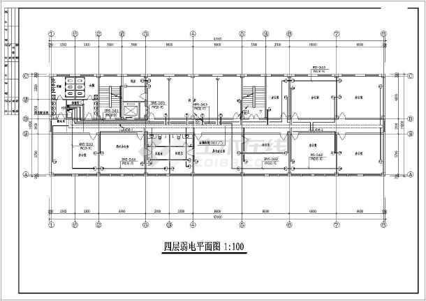 5层办公楼设计图