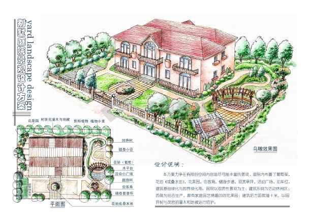 别墅庭院设计-图1