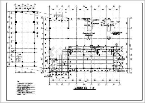 某医院锅炉房,变电所图纸设计施工结构pylab·表格绘制图片