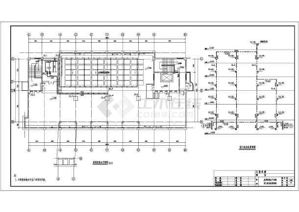 某五层图纸图纸建筑给排水v图纸宾馆_cad图纸小猫.纸多层模图片
