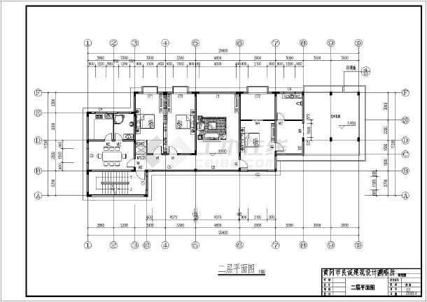 简介: 概况:该图纸为某四层豪华别墅和设计施工图,建筑欧式,坡屋顶,.
