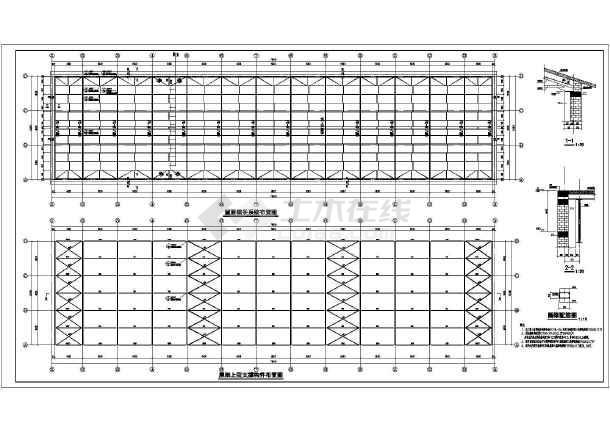 某地区排架结构酒厂冷库结构设计施工图