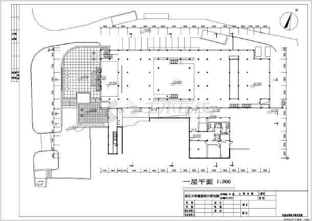 杭州三层历史博物馆建筑方案设计图