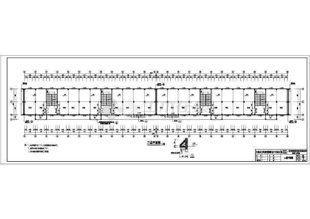 仪陇县3层混凝土框架结构古建筑建筑施工图