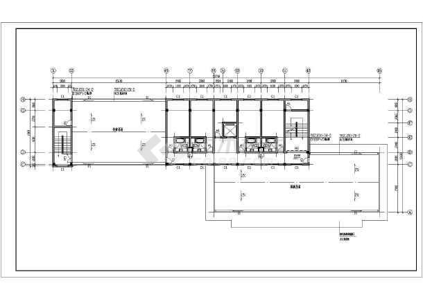 某地区欧式小酒店建筑方案设计图纸