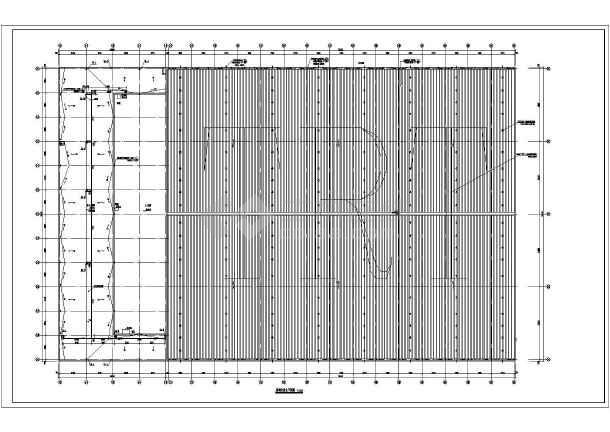 北京四层混合结构大型药企高架库房给排水消防施工图