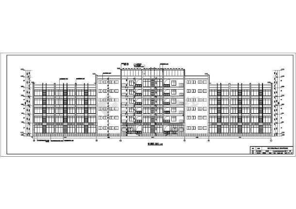 建筑结构形式为钢筋混凝土框架结 屋顶平面图,各立面图,各剖面图