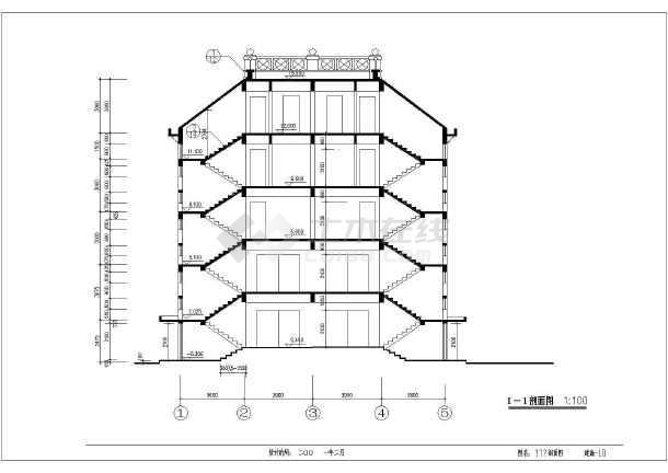 简介:本图为某地四层砖混结构住宅楼建筑设计方案图,有夹层设计,内容