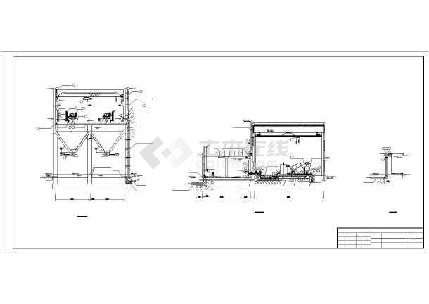 某地浓缩脱水机房设计(采用离心浓缩脱水机)-图1
