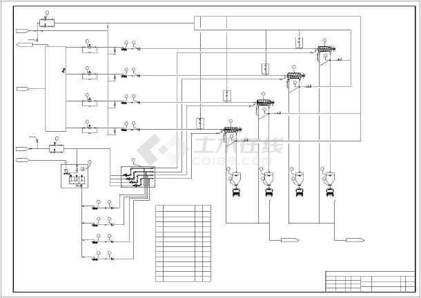 某地浓缩脱水机房设计(采用离心浓缩脱水机)-图2