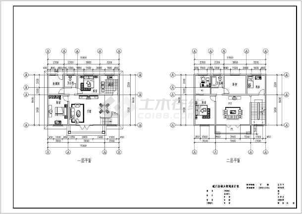 图纸一层小信息设计农村_农村一层小图纸招聘别墅别墅设计图片
