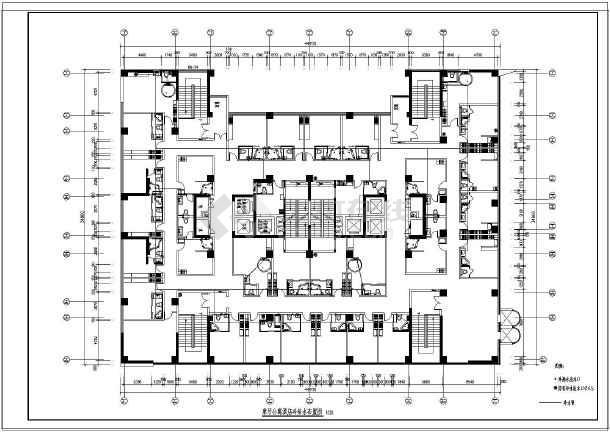 【江苏】某大型公寓给排水设计图纸-图1