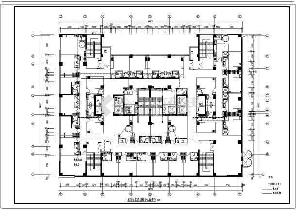 【江苏】某大型公寓给排水设计图纸-图2