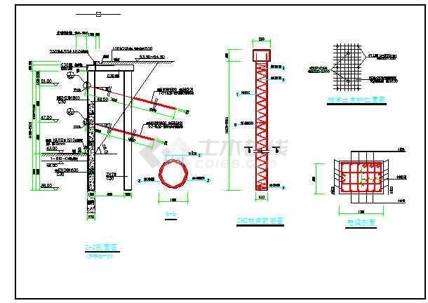 基坑支护设计图纸,含说明