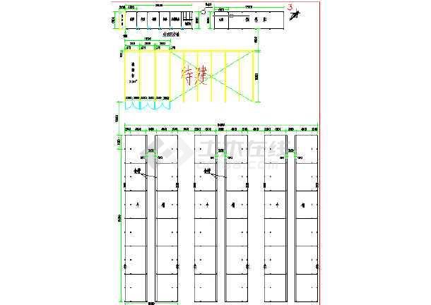 八莫牛棚建筑设计图