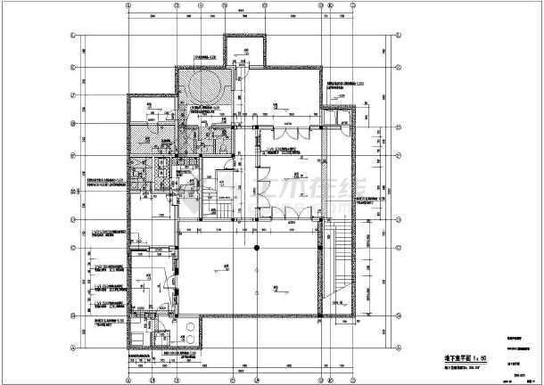 完整海边别墅建筑施工图图片1