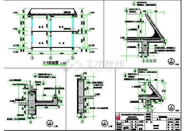 某地带堂屋,土炕二层农村房屋建筑设计图图片