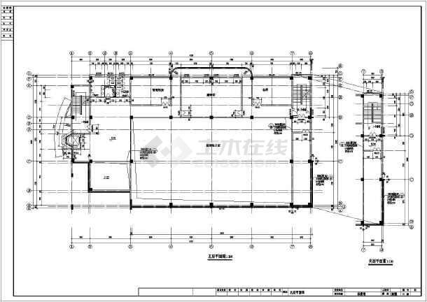 某体育馆需要平面全套电脑(CAD)上图纸什么软件下载建筑看图纸图片