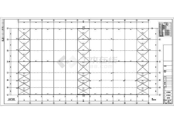 内容包含:(钢结构设计总说明,基础,基础详图,屋面结构平面图,屋顶