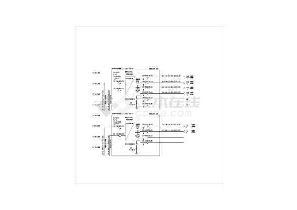 电气配电箱接线图-图2