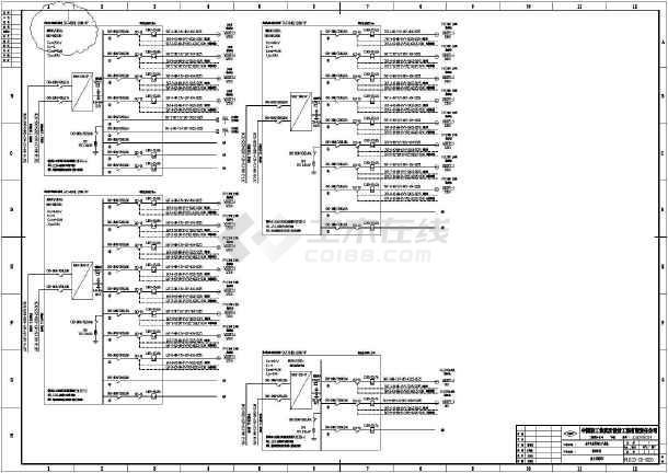 电气配电箱接线图