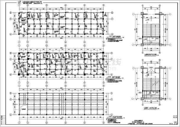某小学教学楼的隔震设计施工图