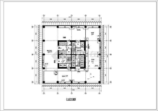 全套超高层幕墙设计平面图