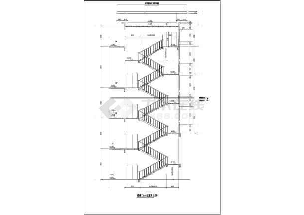 某地高层框架结构住宅楼建筑全套施工图
